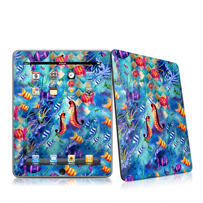 iPad Skin - Harlequin Seascape