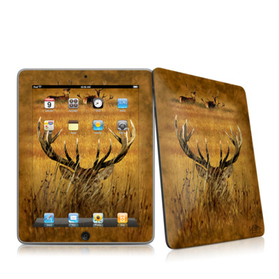 iPad Skin - Hiding Buck