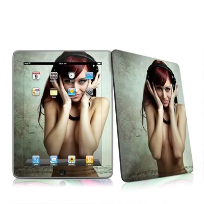 iPad Skin - Headphones