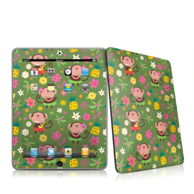 iPad Skin - Hula Monkeys