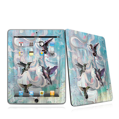 iPad Skin - Hummingbirds