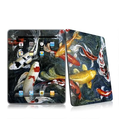 iPad Skin - Koi's Happiness