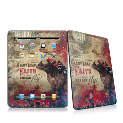 iPad Skin - Leap Of Faith