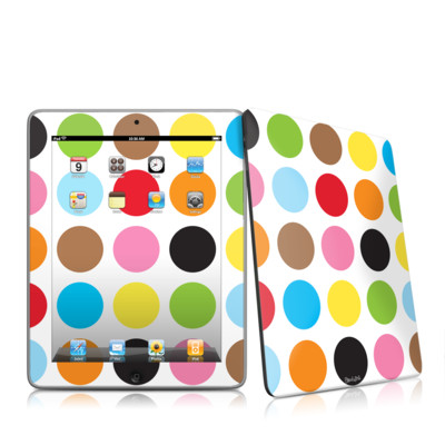 iPad Skin - Multidot
