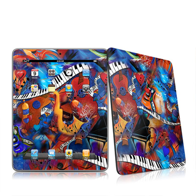 iPad Skin - Music Madness