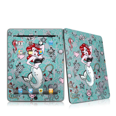 iPad Skin - Molly Mermaid