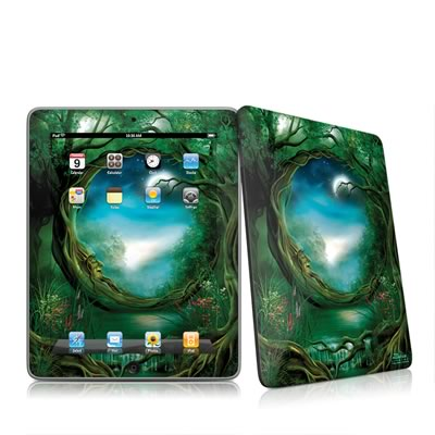 iPad Skin - Moon Tree
