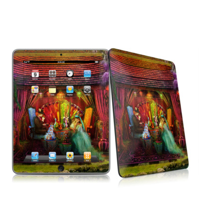 iPad Skin - A Mad Tea Party