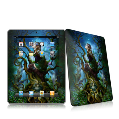 iPad Skin - Nightshade Fairy