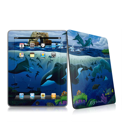 iPad Skin - Oceans For Youth