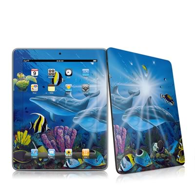 iPad Skin - Ocean Friends