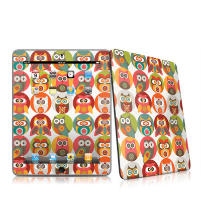iPad Skin - Owls Family