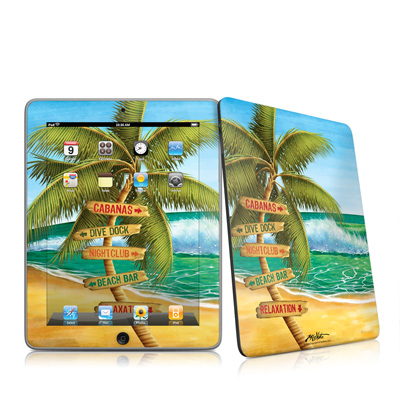 iPad Skin - Palm Signs
