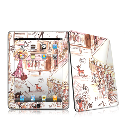 iPad Skin - Paris Makes Me Happy