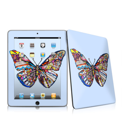 iPad Skin - Pieced Butterfly