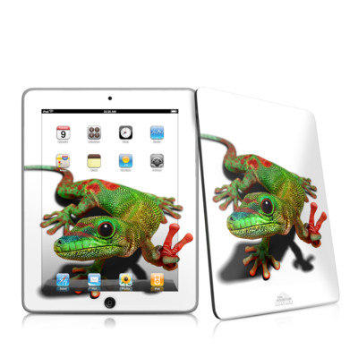 iPad Skin - Peace Gecko