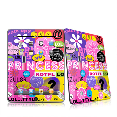 iPad Skin - Princess Text Me