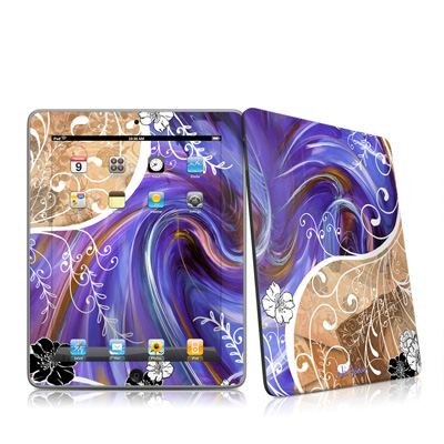 iPad Skin - Purple Waves