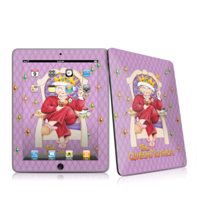 iPad Skin - Queen Mother