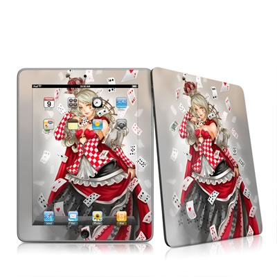 iPad Skin - Queen Of Cards