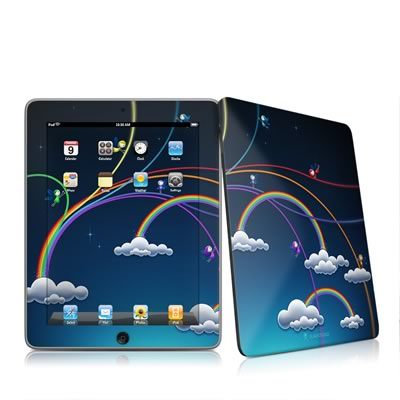 iPad Skin - Rainbows