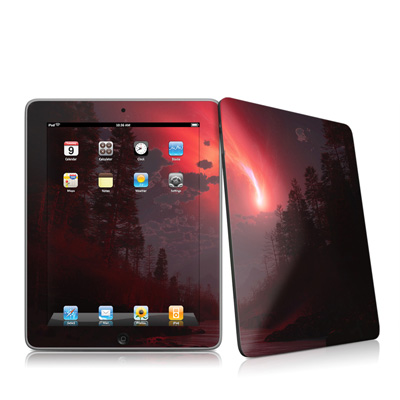 iPad Skin - Red Harbinger