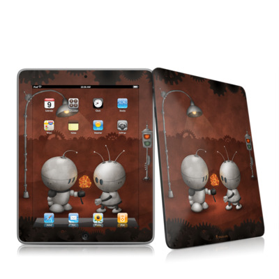 iPad Skin - Robots In Love
