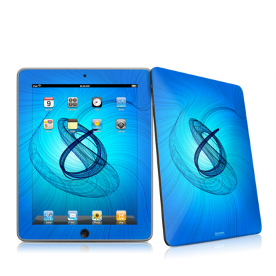 iPad Skin - Rotating Swirls