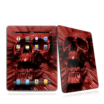iPad Skin - Skull Blood