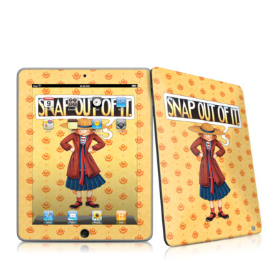 iPad Skin - Snap Out Of It