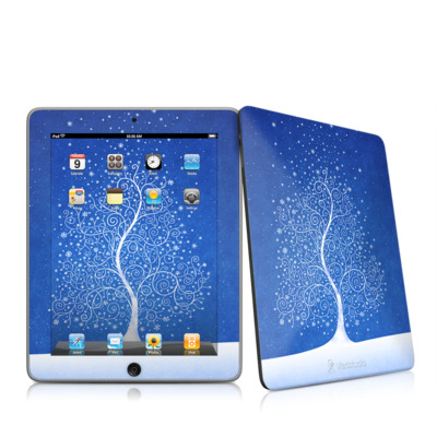 iPad Skin - Snowflakes Are Born
