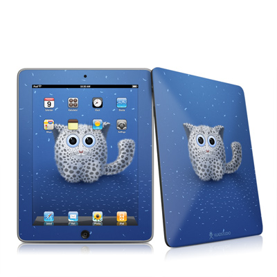 iPad Skin - Snow Leopard