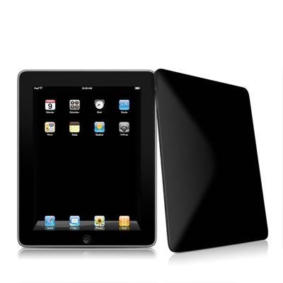 iPad Skin - Solid State Black
