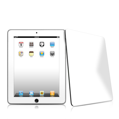 iPad Skin - Solid State White