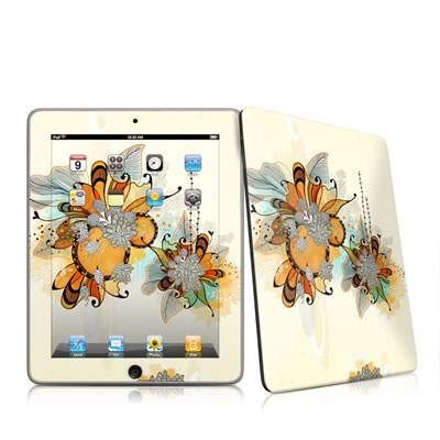 iPad Skin - Sunset Flowers