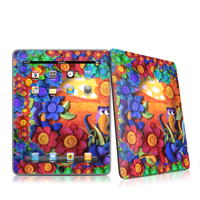 iPad Skin - Summerbird