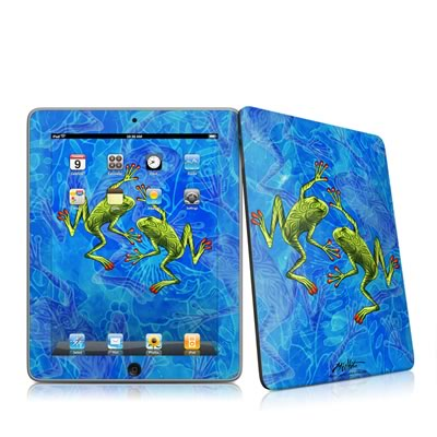 iPad Skin - Tiger Frogs