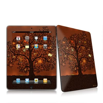 iPad Skin - Tree Of Books