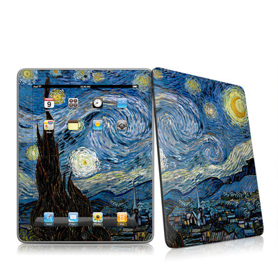 iPad Skin - Starry Night