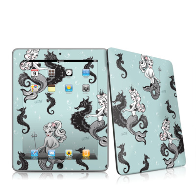 iPad Skin - Vintage Mermaid