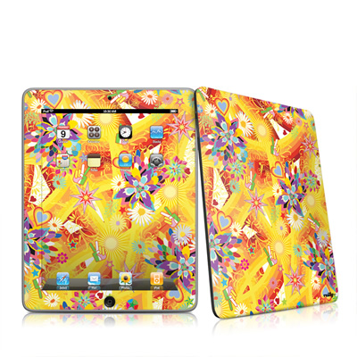 iPad Skin - Wall Flower