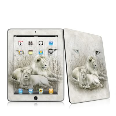 iPad Skin - White Lion