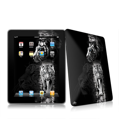 iPad Skin - White Tiger