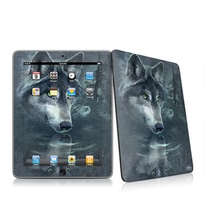 iPad Skin - Wolf Reflection