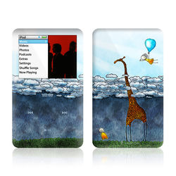 iPod Classic Skin - Above The Clouds