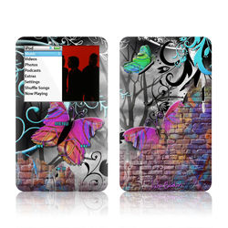 iPod Classic Skin - Butterfly Wall