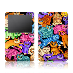 iPod Classic Skin - Colorful Kittens