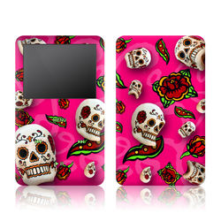iPod Classic Skin - Pink Scatter