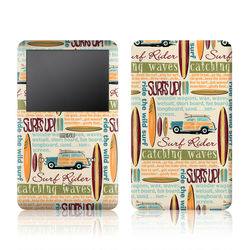 iPod Classic Skin - Surf Words