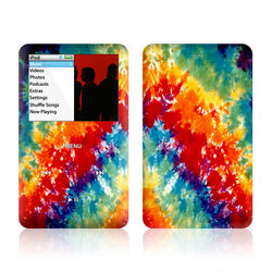 iPod Classic Skin - Tie Dyed
